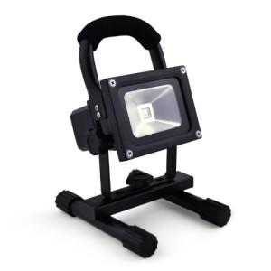 10W Akku-LED-Flutlicht Baustrahler 1000lm 4400mAh Li-Ion dimmbar Epistar IMPLOTEX