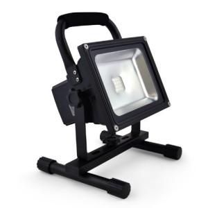 Epistar IMPLOTEX Akku-LED-Flutlicht Baustrahler 20W, 2000 Lumen