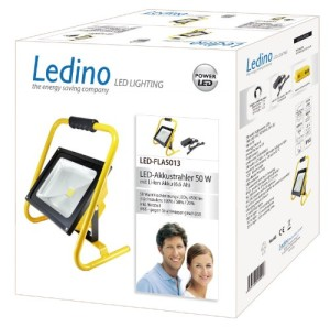 Ledino LED-Akkustrahler 50 W LED-FLA5013