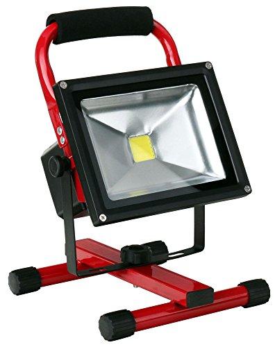 Trendig LED's light Akku LED Baustrahler 50 Watt, 4200 Lumen - LED Baustrahler HU65