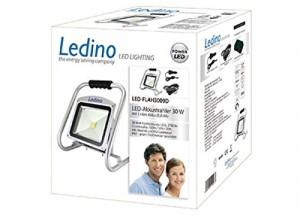 Ledino LED-FLAH3009D Akkustrahler 30 W, 2700 Lumen
